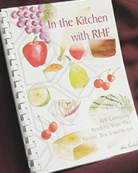 In the Kitchen with RHF cookbook cover