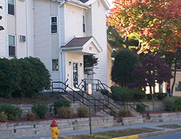 Riverside Village front steps