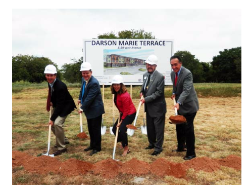 Darson Marie Terrace groundbreaking ceremony