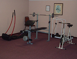 South Pointe exercise room