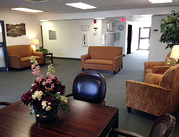 Towne Creek Apartments waiting area