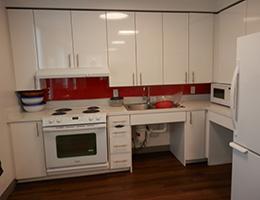 Whittier resident kitchen