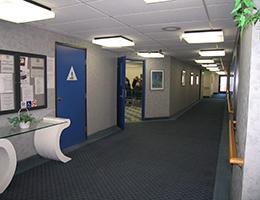 Wilshire House hallway