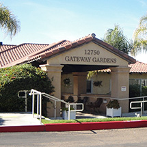gateway gardens front of the facility