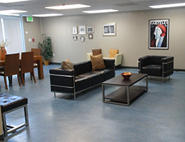 Hobart Heights waiting area