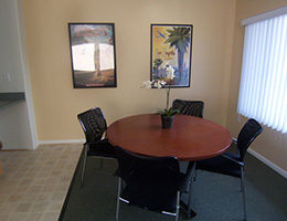 Witmer Heights dining area