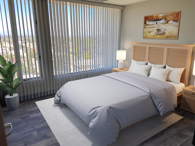 Bixby Knolls bedroom