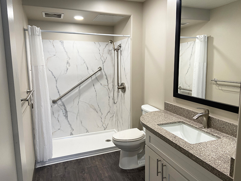 Bixby Knolls bathroom