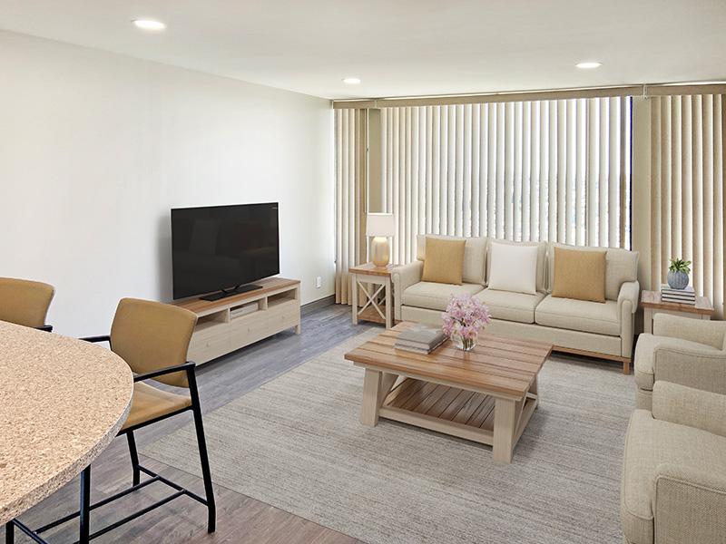 Bixby Knolls living room