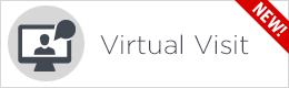 Virtual Visit button white
