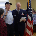 RHF Bishop's Glen veteran recognition ceremony