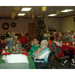 RHF Bishop's Glen holiday gathering for residents