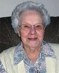 Doris Ditchfield past resident smiling