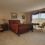 RHF Sun City resident bedroom