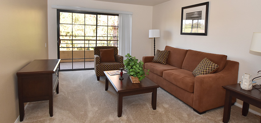 RHF Gateway resident living room
