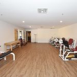 RHF Gateway exercise room multiple exercise machines