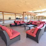 RHF Gateway outdoor couches in covered area