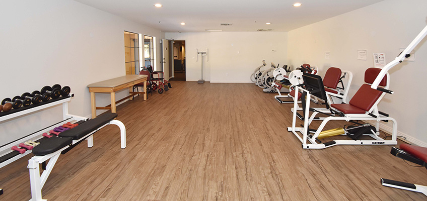 RHF Gateway exercise room