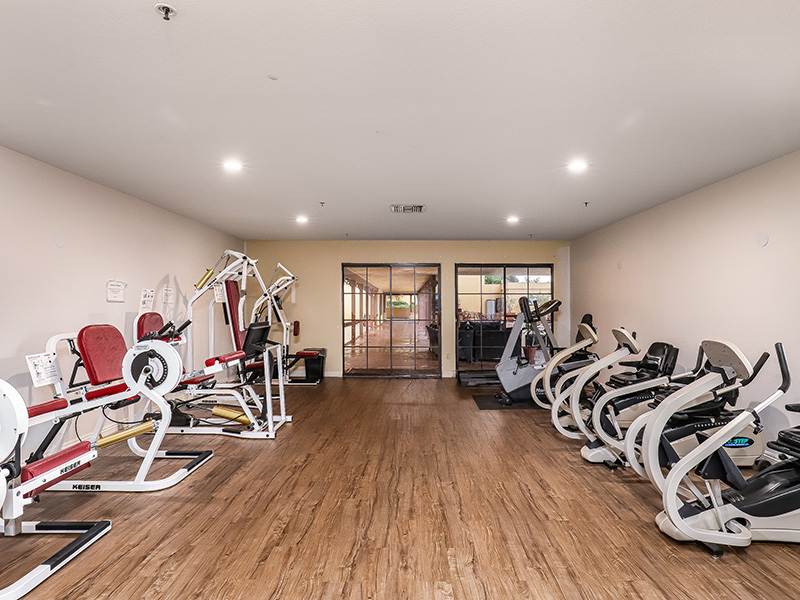 The Gateway and Gateway Gardens exercise gym