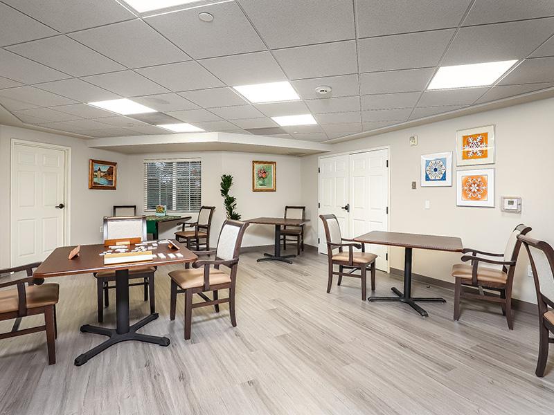 Gateway Gardens activity room