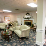 RHF Colonial traditionally appointed waiting area