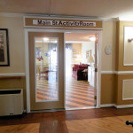 The main st. activity room entrance