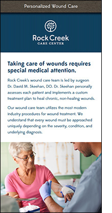rock creek wound care information