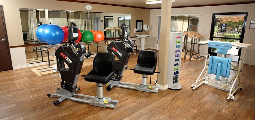 Pinecreek rehabilitation room