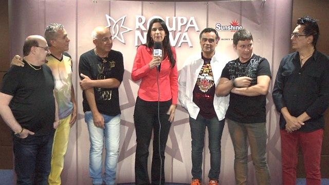 Roupa Nova celebra 35 anos de carreira em Curitiba