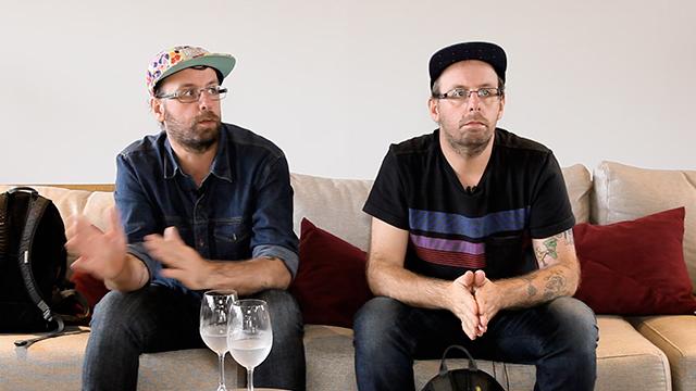 HAUS - entrevista os gemeos 2015