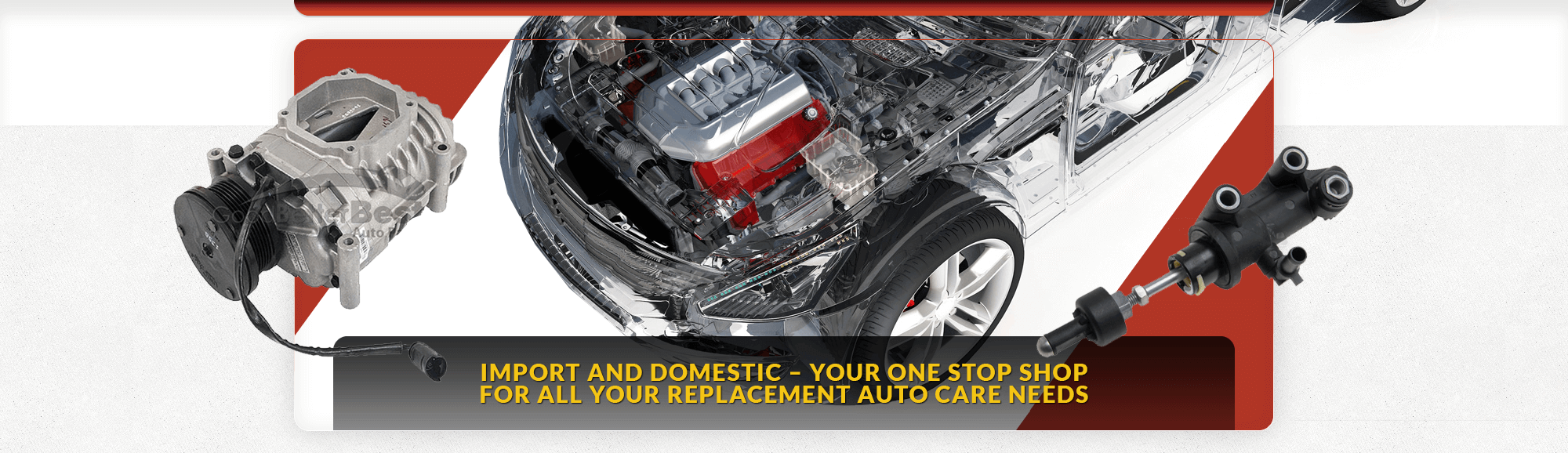 IMPORT AND DOMESTIC – YOUR ONE STOP SHOP FOR ALL YOUR REPLACEMENT AUTO CARE NEEDS