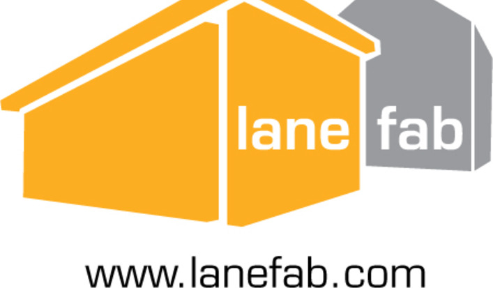 Lanefab logo and url