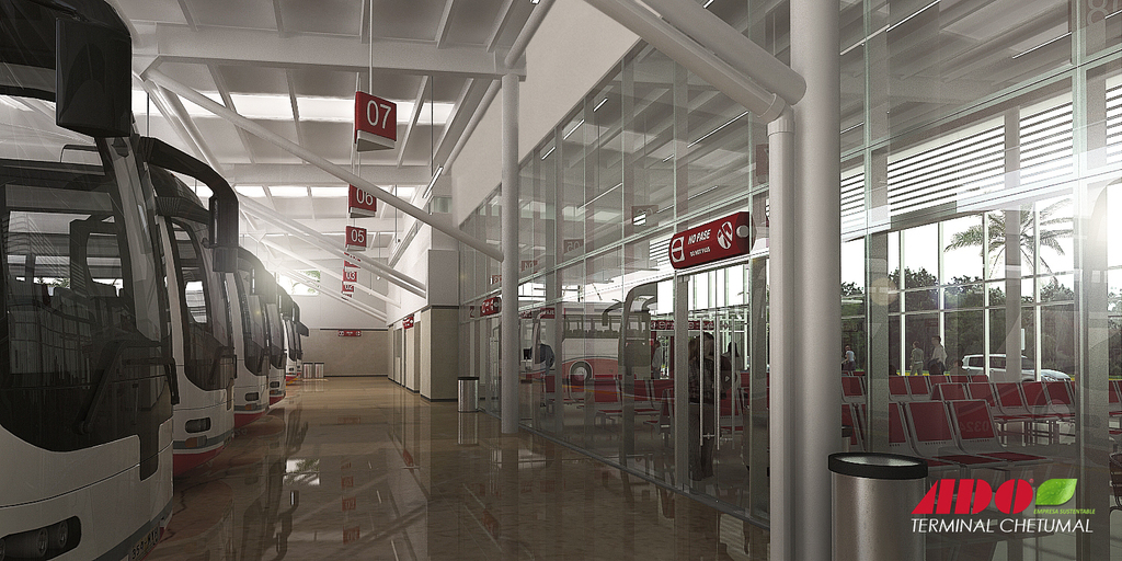 Terminal de Autobuses de Chetumal ADO