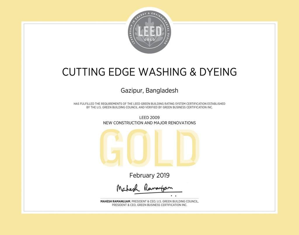 Cutting Edge Industries Ltd. (Washing Plant)