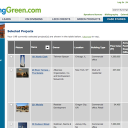 LEED Projects with BuildingGreen Case Studies