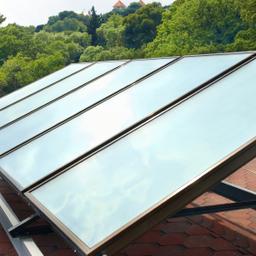 Technology: Solar hot water panels