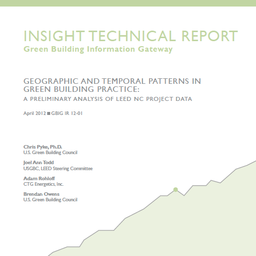Report: Geographic & Temporal Patterns in Green Building Practice