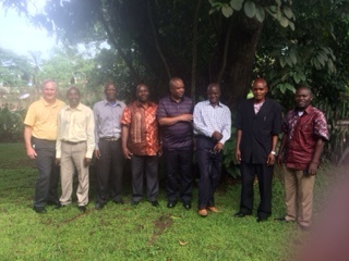 Publishing Team Leaders Meet in Kinshasa