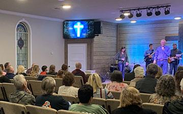 Small rural church strives to look outward