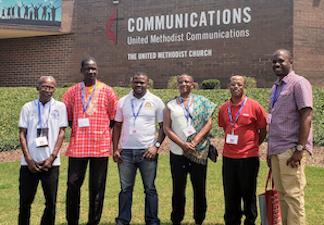Africa E-Reader Team Returns to Nashville