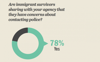 Advocate and Legal Service Survey Regarding Immigrant Survivors, 2017
