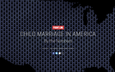 Child Marriage in America By the Numbers, 2017