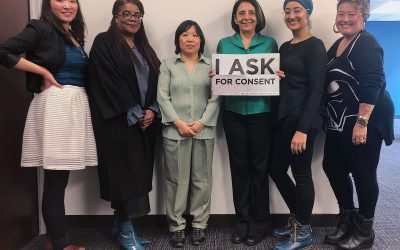 API-GBV Wears Teal for Sexual Assault Awareness Day of Action