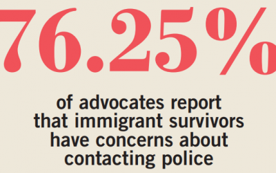 May 2019 Advocate & Legal Services Findings: Immigrant Survivors Fear Reporting Violence