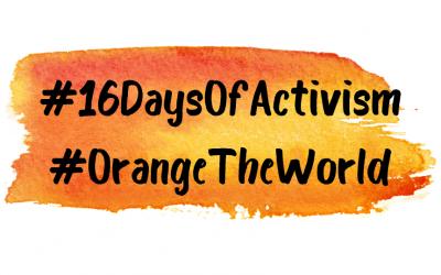 #16DaysOfActivism to End Gender-Based Violence 2019