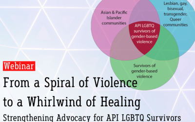 From a Spiral of Violence to a Whirlwind of Healing: Strengthening Advocacy for API LGBTQ Survivors