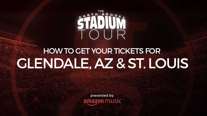 Here's the 4-1-1 on getting your tickets for the St. Louis show on March 9 and Glendale on March 23