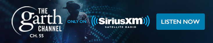 Listen to Garth on SiriusXM channel 55