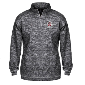 1/4 Zip Pullover - Charcoal