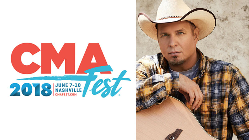 CMA Fest Announces Addition of Garth Brooks at XFinity Fan Fair X